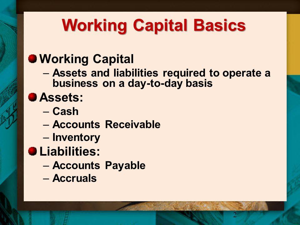 Working Capital Basics