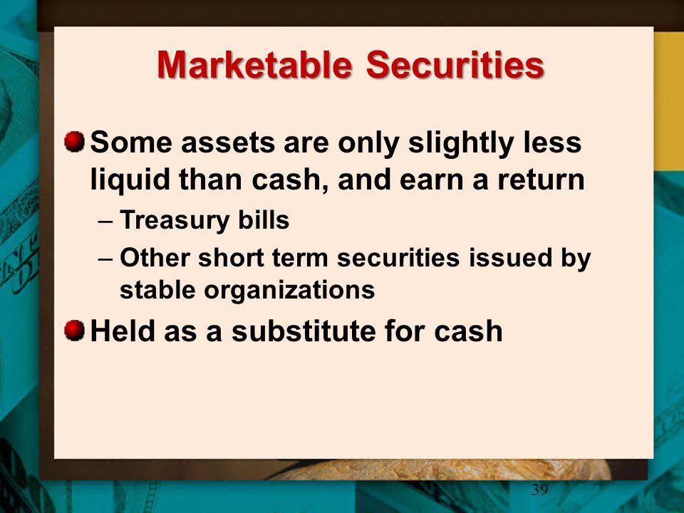 Marketable Securities