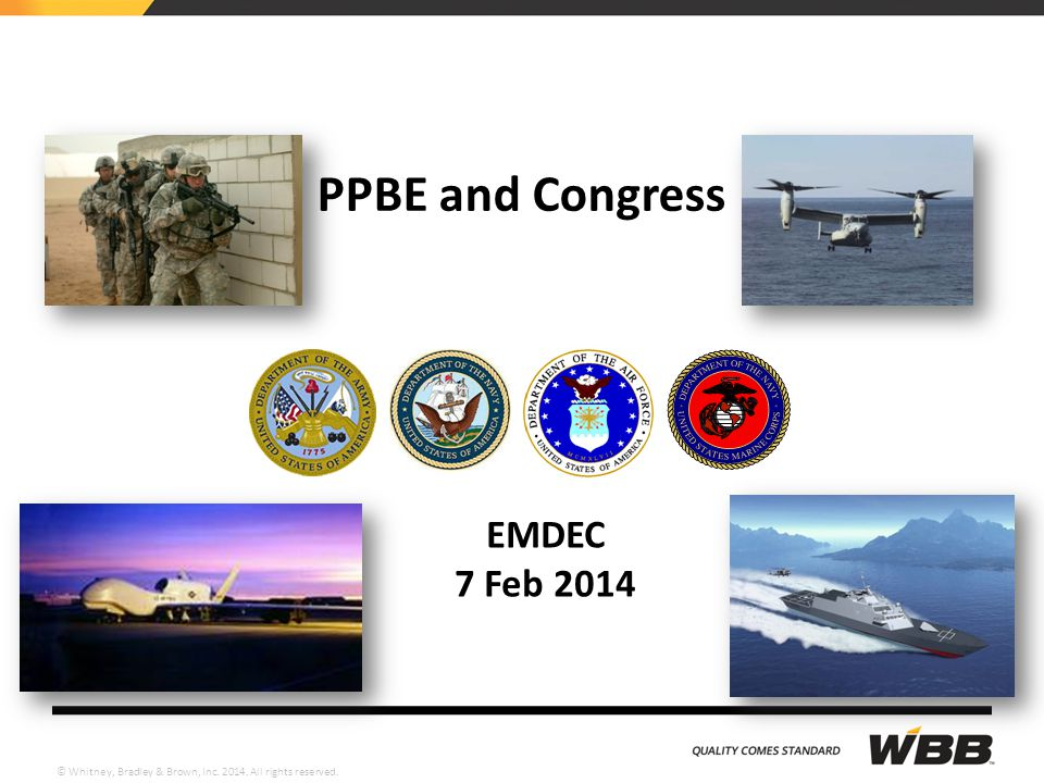 PPBE and Congress EMDEC 7 Feb 2014