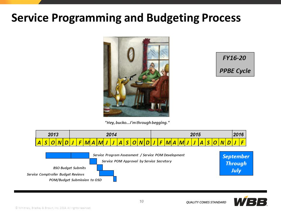 Service Programming and Budgeting Process