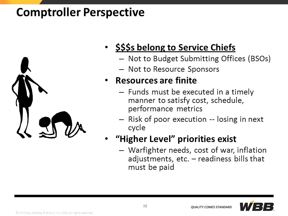Comptroller Perspective
