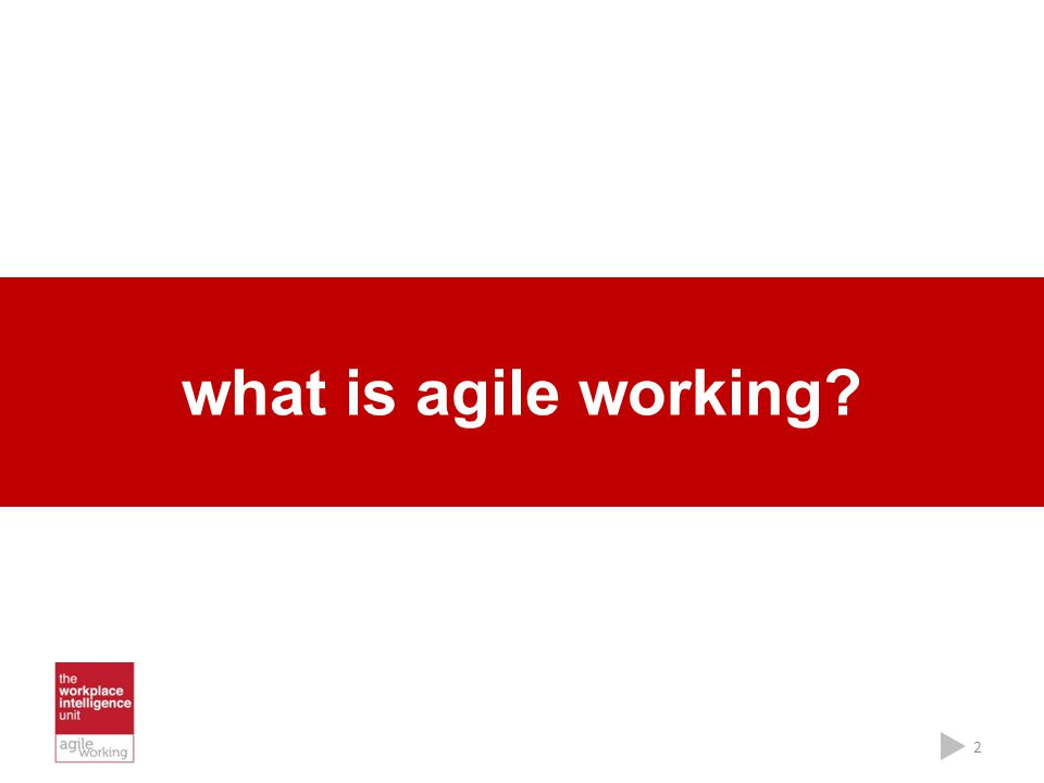 what is agile working