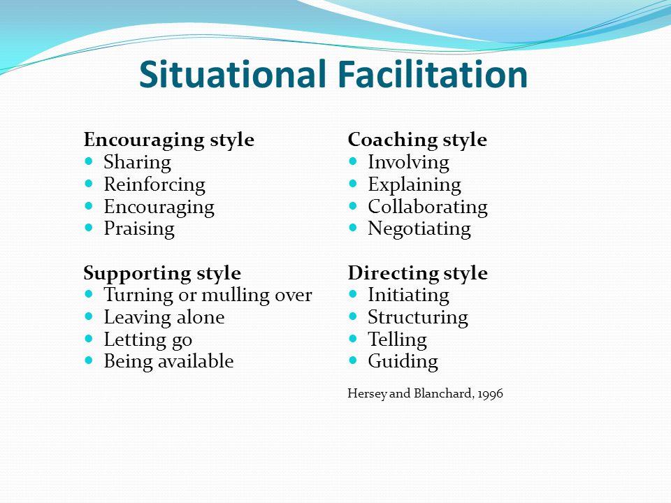 Situational Facilitation