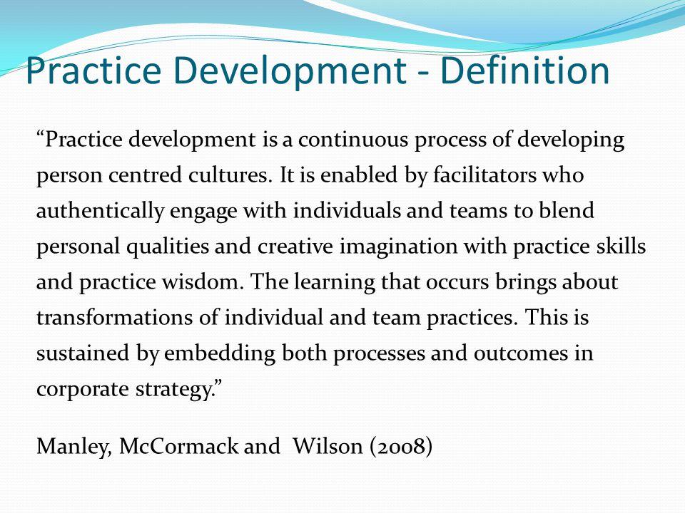 Practice Development - Definition