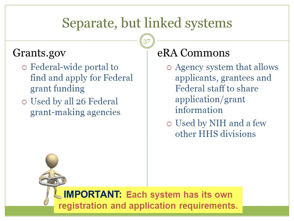 Separate, but linked systems