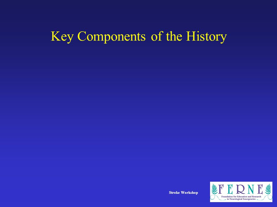 Key Components of the History