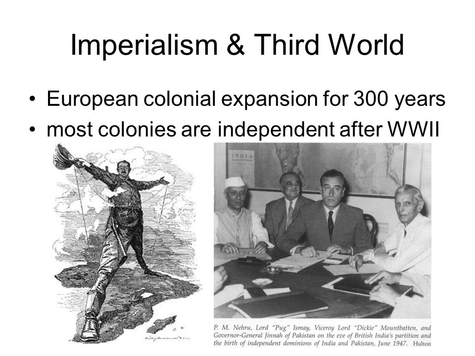 Imperialism & Third World