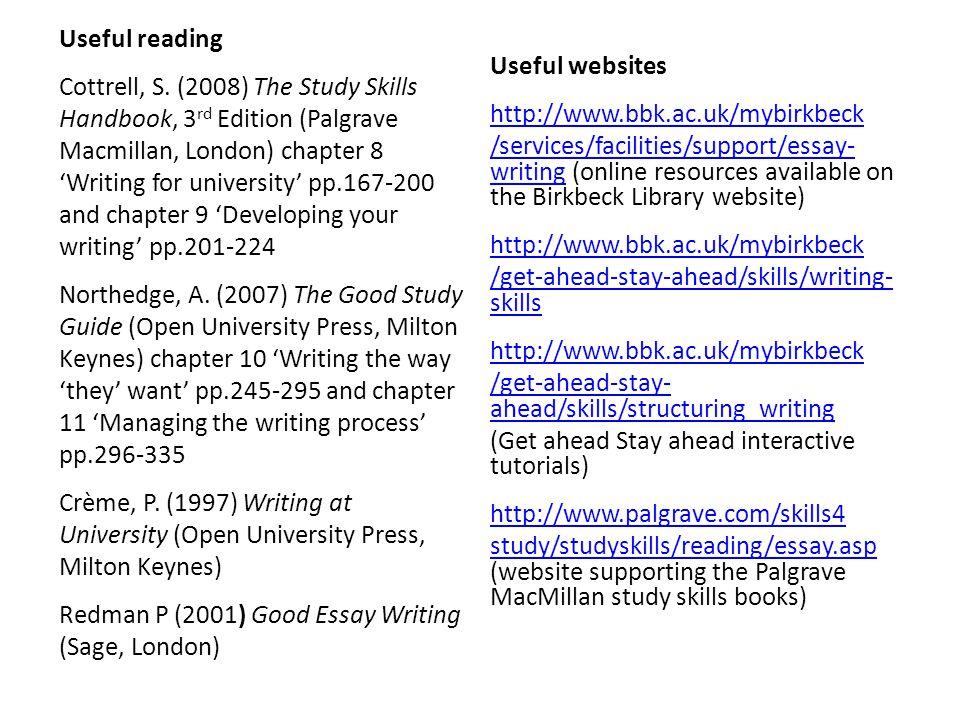 Useful reading