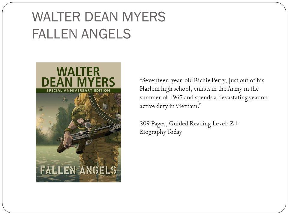 WALTER DEAN MYERS FALLEN ANGELS