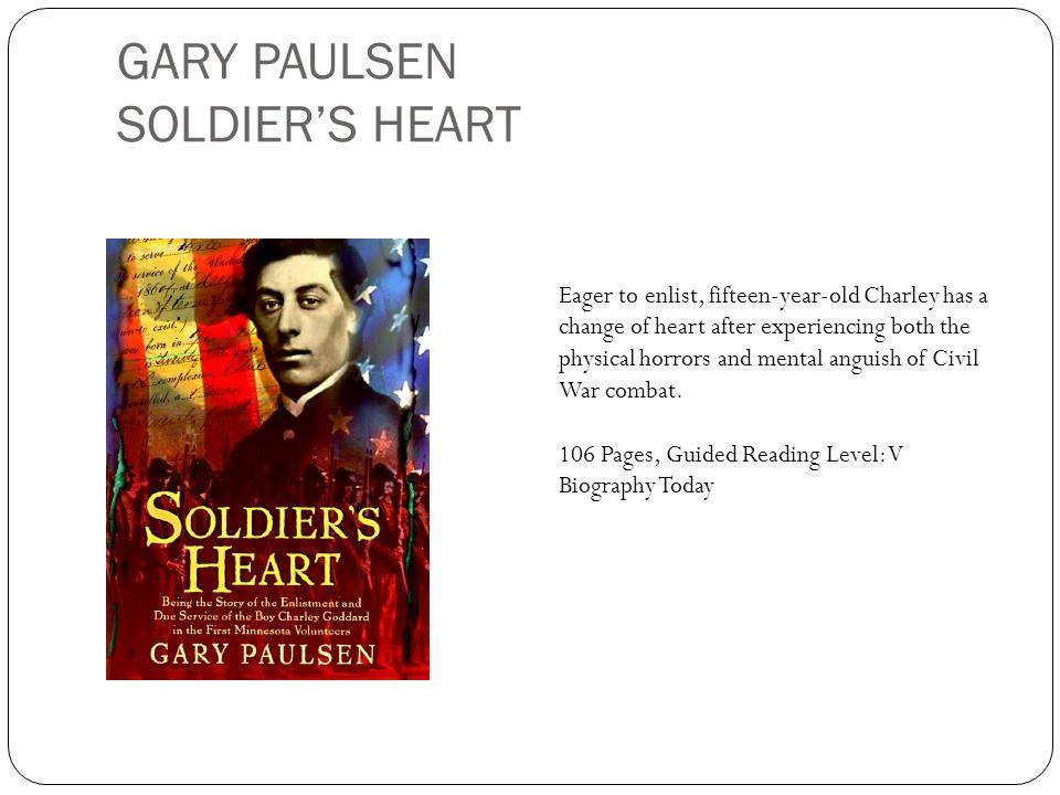 GARY PAULSEN SOLDIER'S HEART