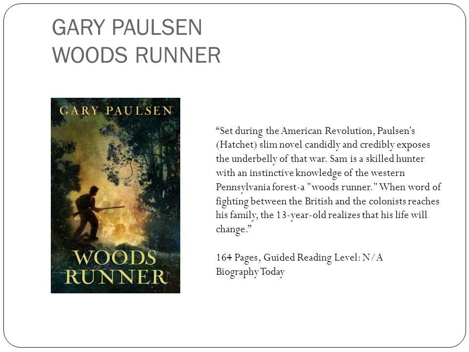 GARY PAULSEN WOODS RUNNER