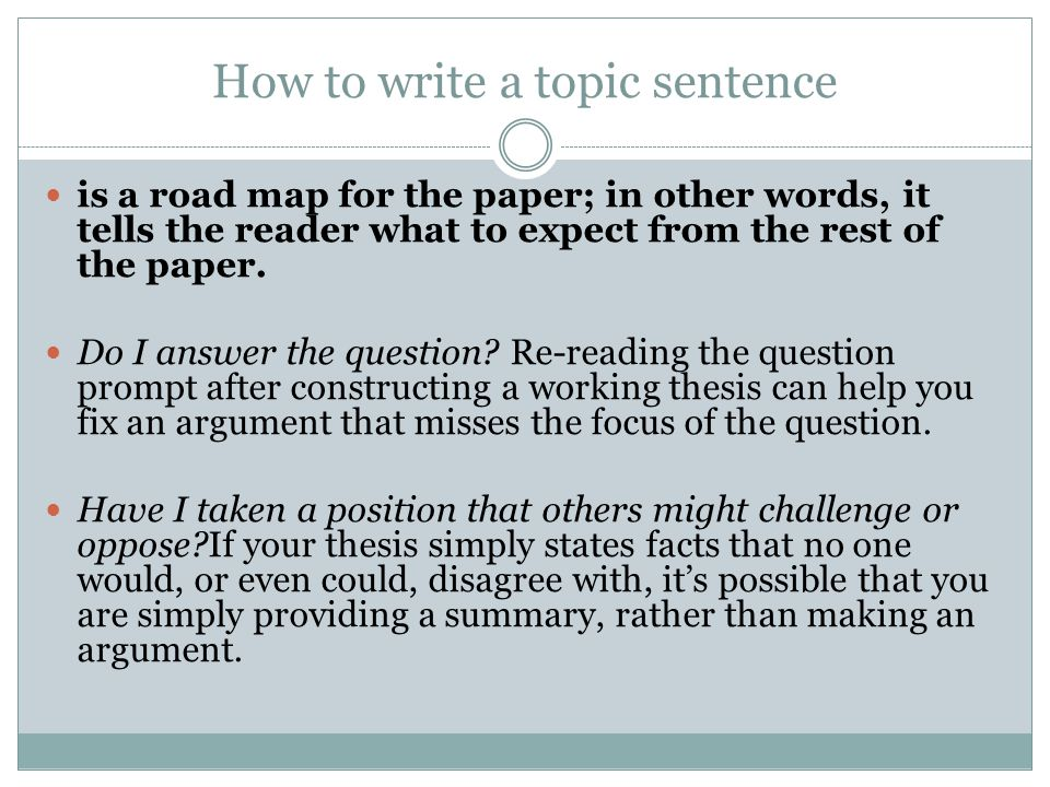 How to Write a Summary Paper in MLA Format
