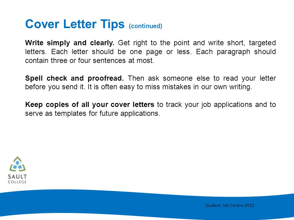 Cover letter writing ppt video online download for Should cover letters be short