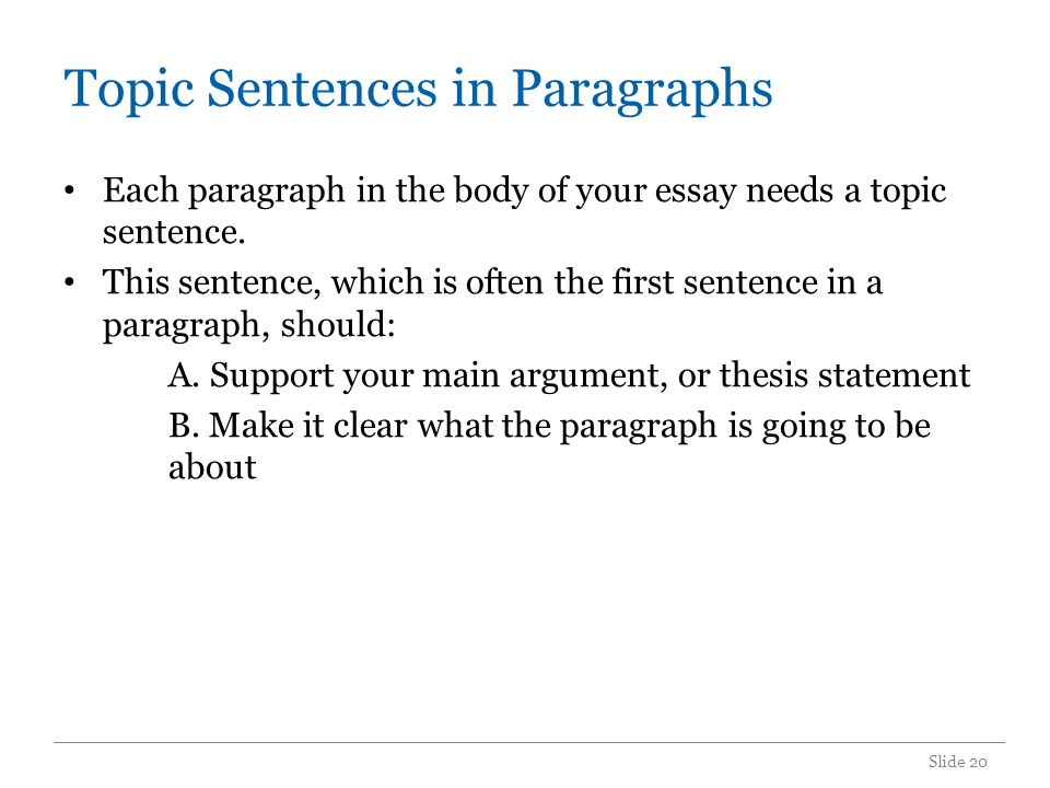 Other Points on Paragraphs