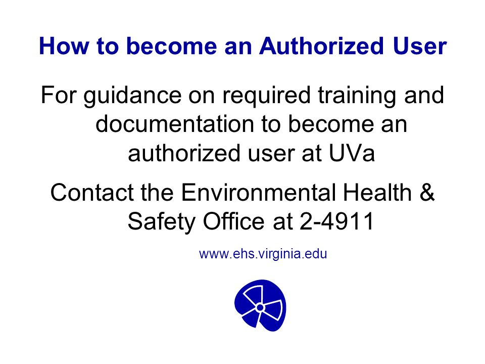 How to become an Authorized User
