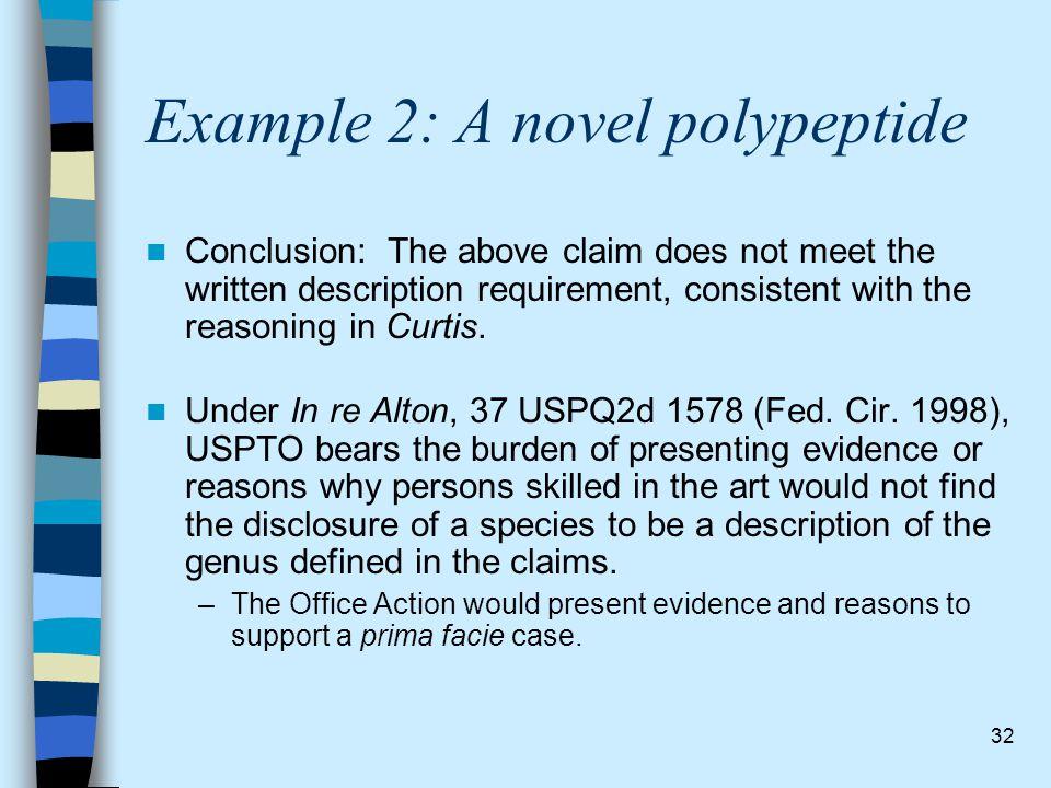 Example 2: A novel polypeptide