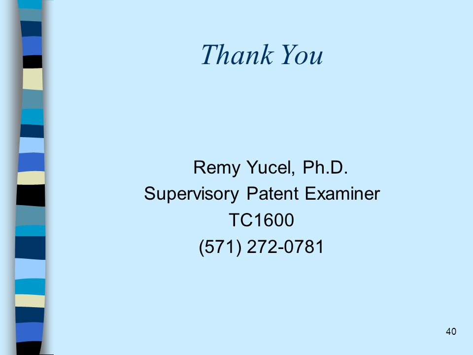 Supervisory Patent Examiner
