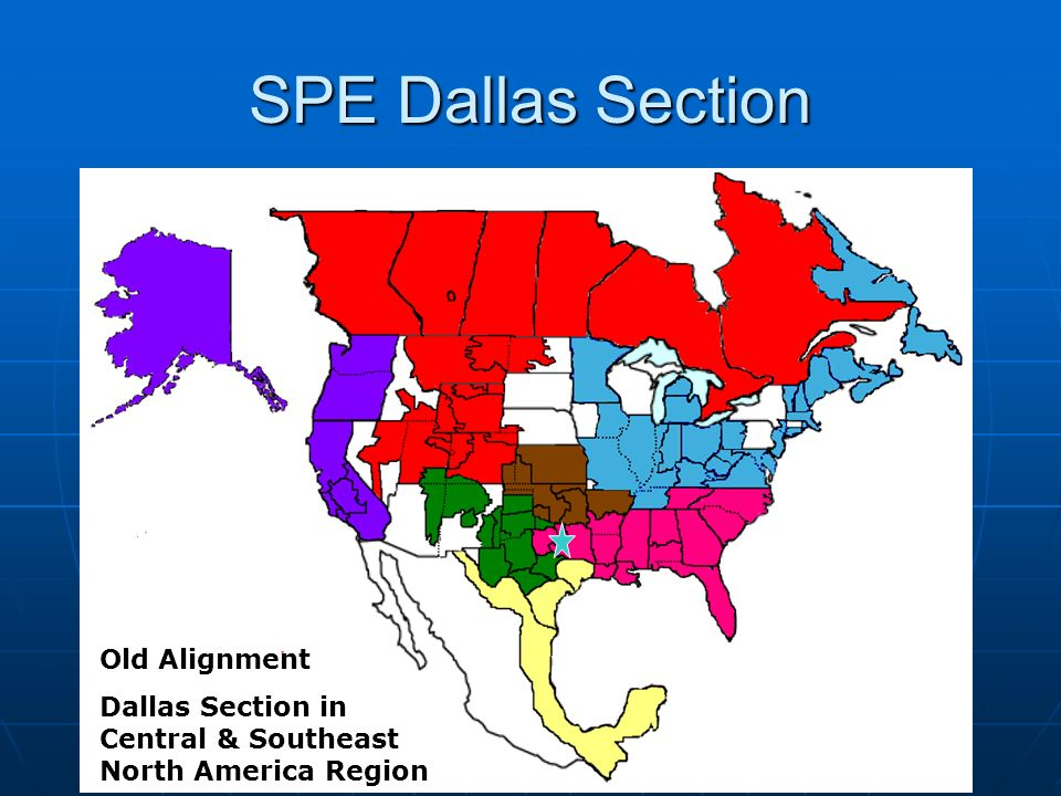 SPE Dallas Section Old Alignment