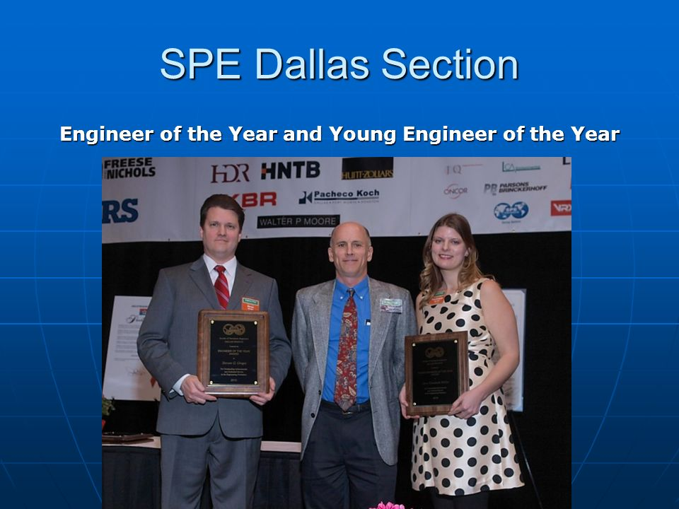 Engineer of the Year and Young Engineer of the Year