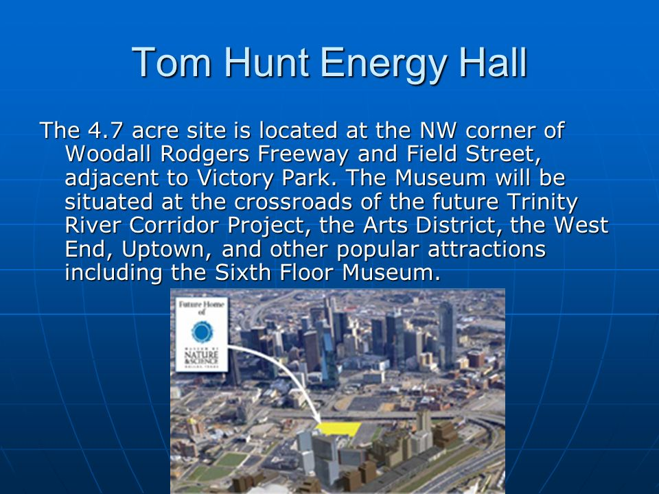 Tom Hunt Energy Hall