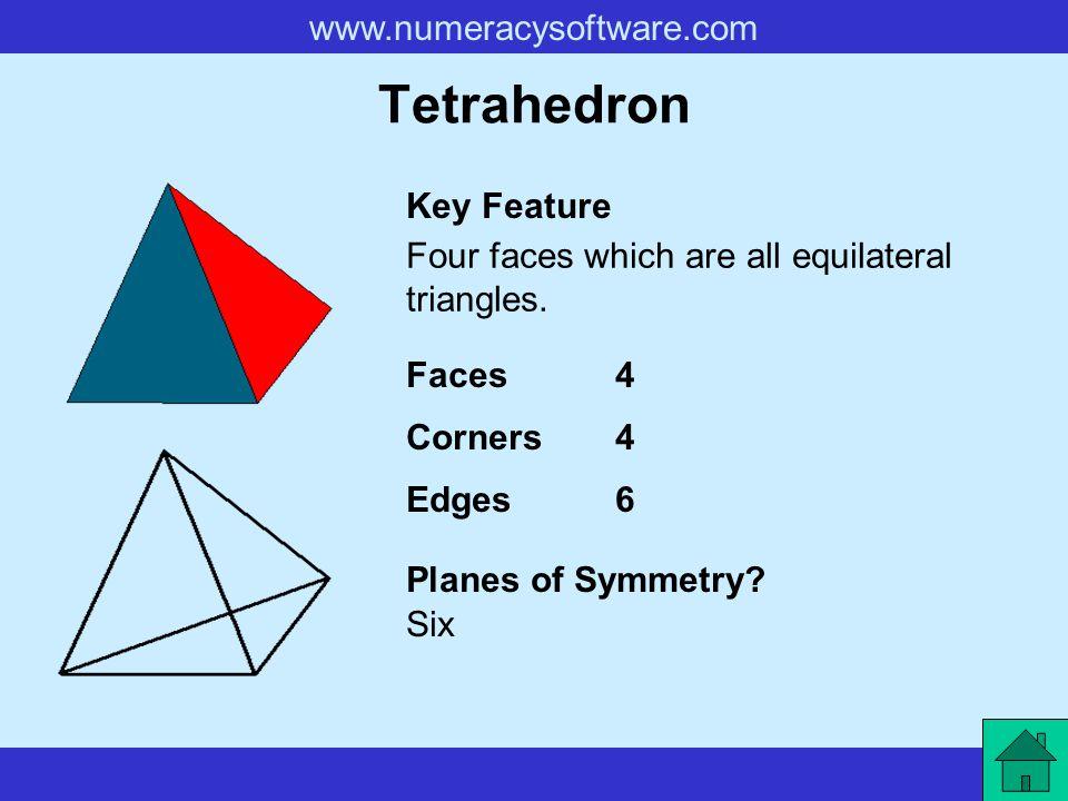 Tetrahedron Key Feature