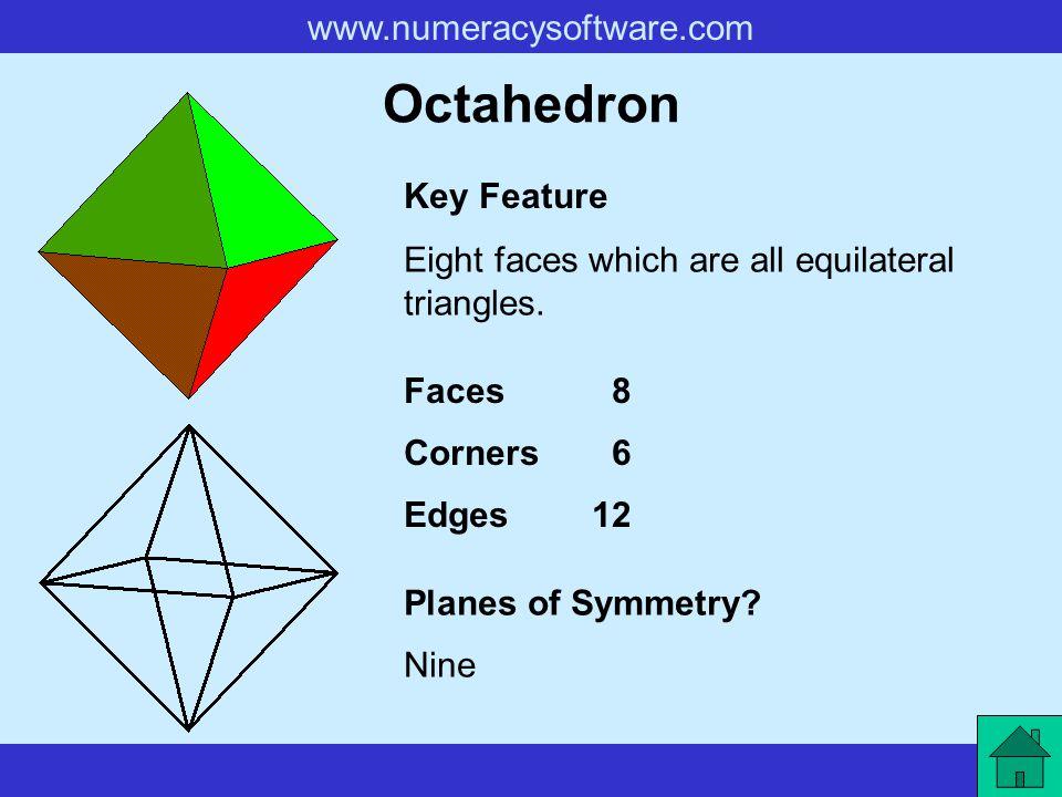 Octahedron Key Feature