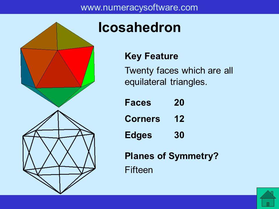Icosahedron Key Feature