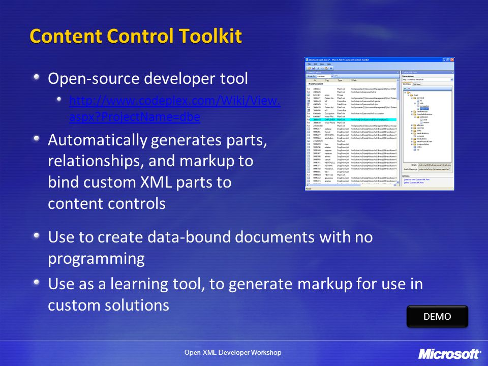 Content Control Toolkit