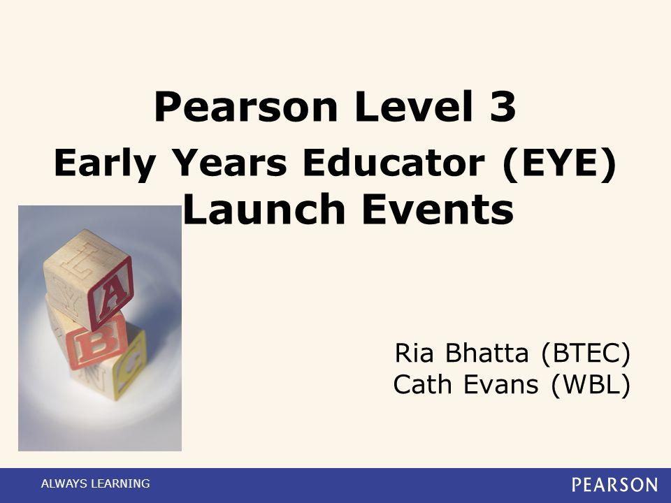 Ria Bhatta (BTEC) Cath Evans (WBL)