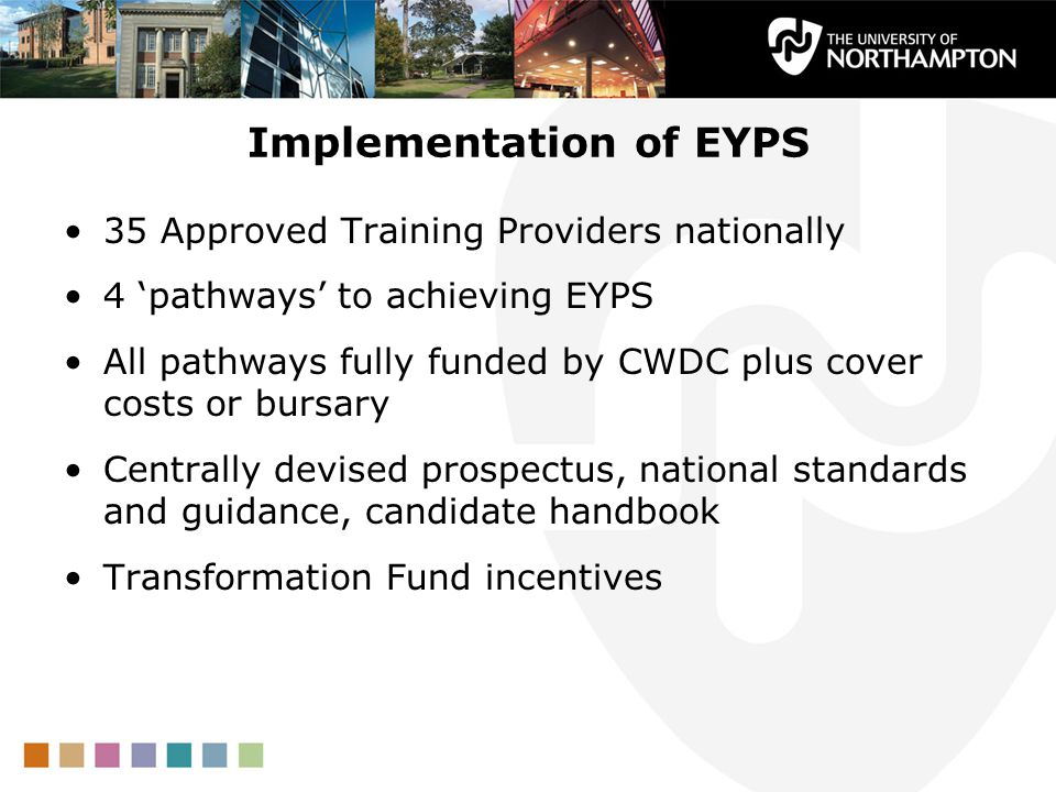 Implementation of EYPS