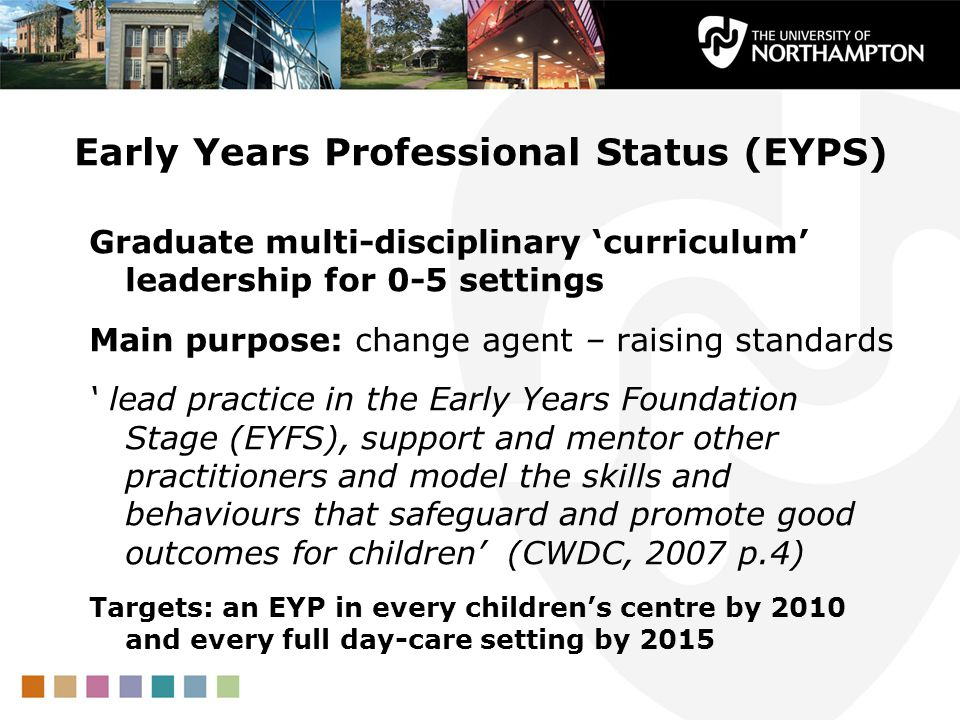 Early Years Professional Status (EYPS)