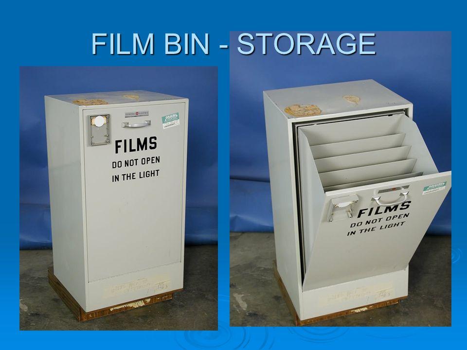 FILM BIN - STORAGE