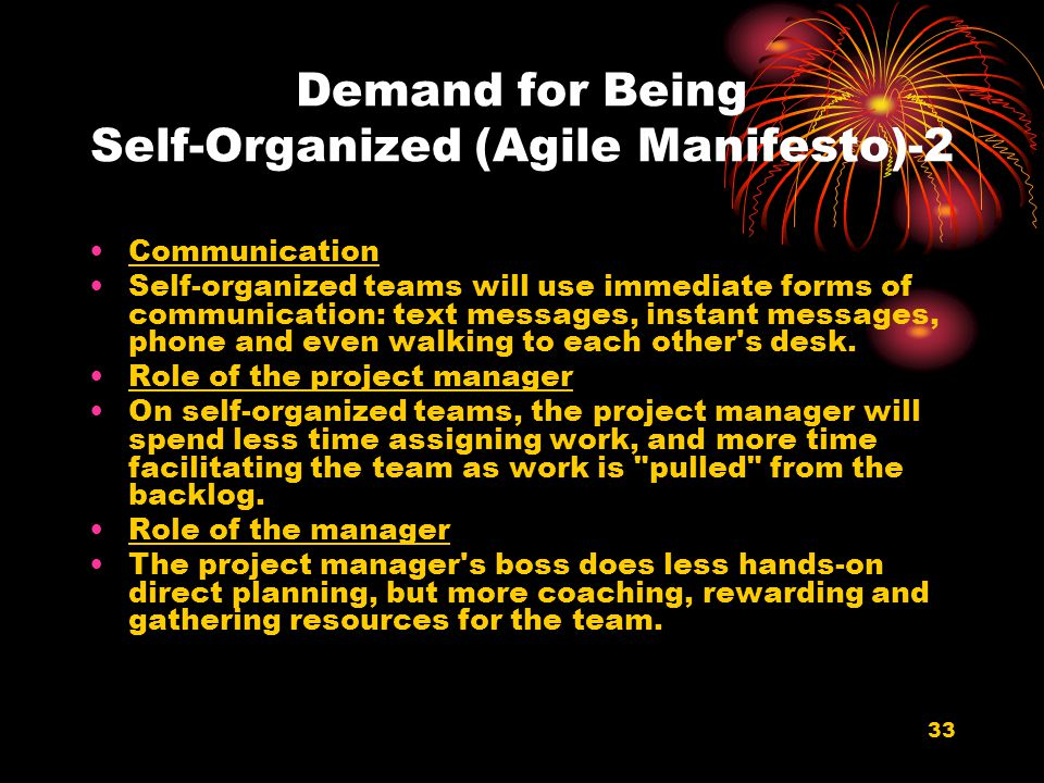 Demand for Being Self-Organized (Agile Manifesto)-2