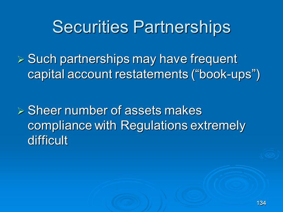 Securities Partnerships