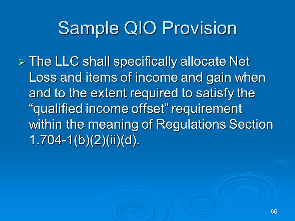 Sample QIO Provision