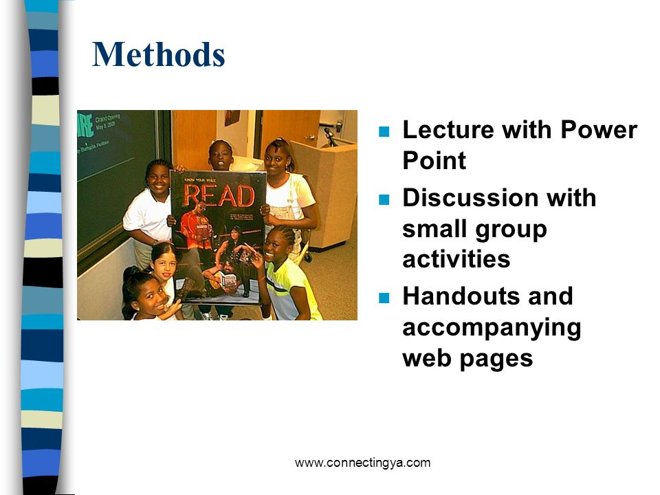 Methods Lecture with Power Point