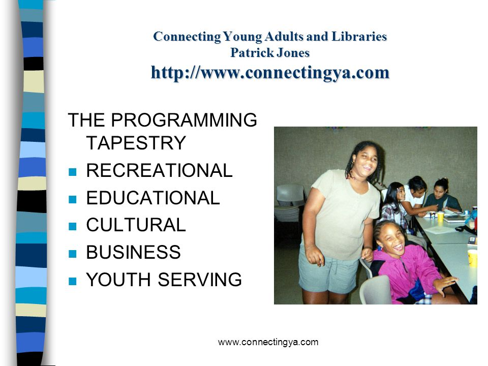 THE PROGRAMMING TAPESTRY RECREATIONAL EDUCATIONAL CULTURAL BUSINESS