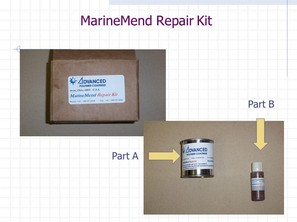 MarineMend Repair Kit Part B Part A