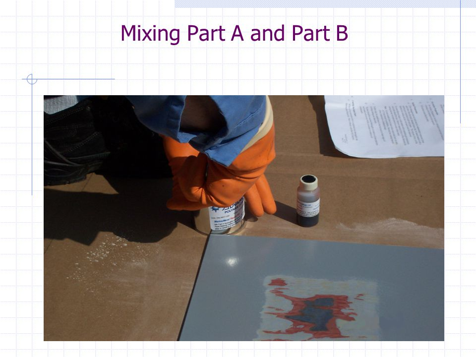 Mixing Part A and Part B