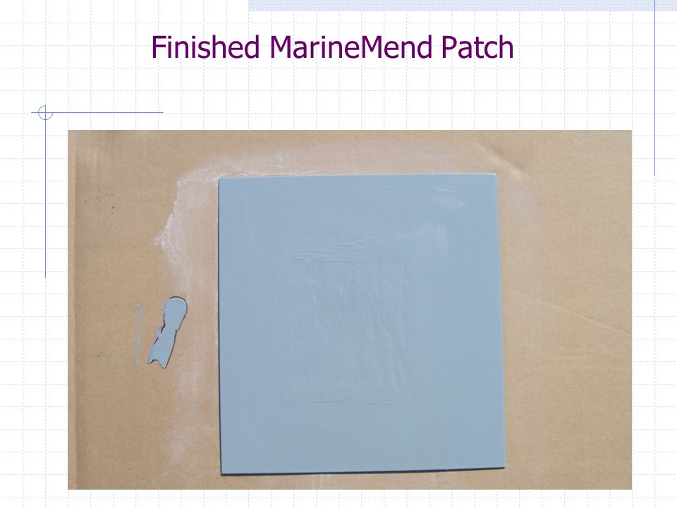 Finished MarineMend Patch