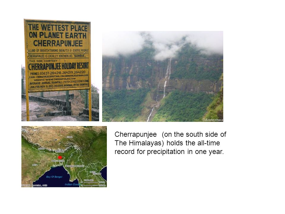 Cherrapunjee (on the south side of