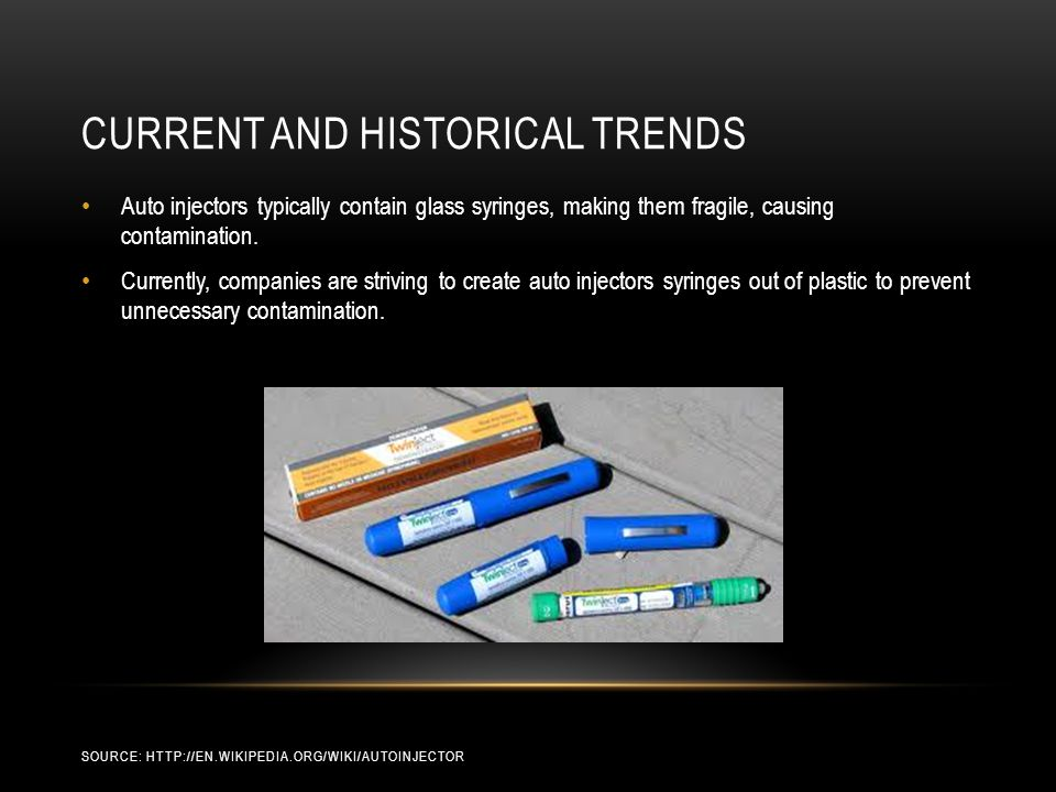 Current and historical trends