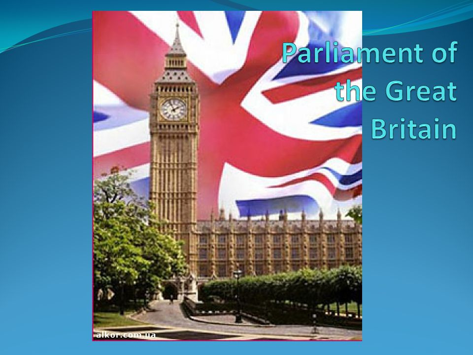 Parliament of the Great Britain