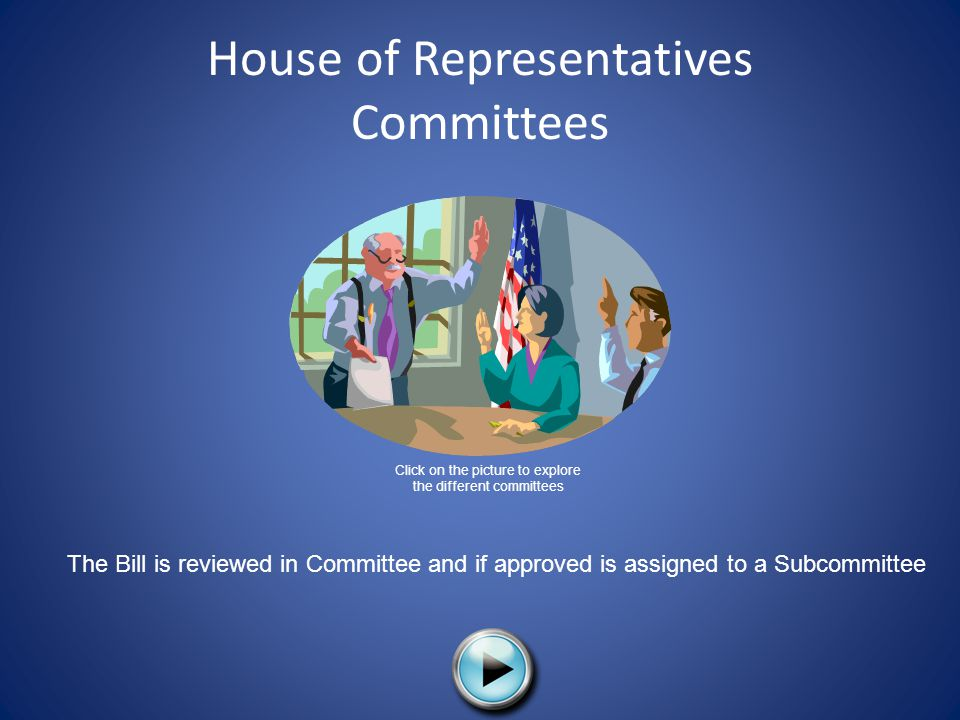 House of Representatives Committees