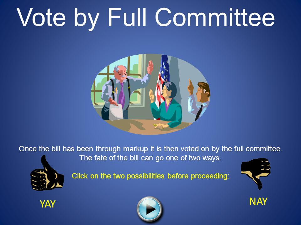 Click on the two possibilities before proceeding: