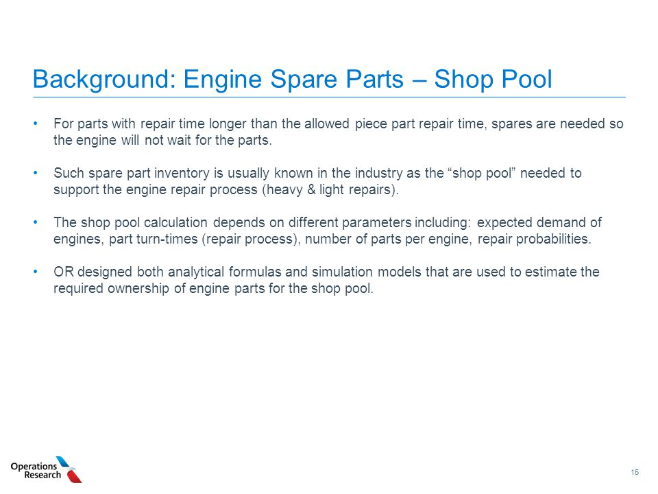 Background: Engine Spare Parts – Shop Pool
