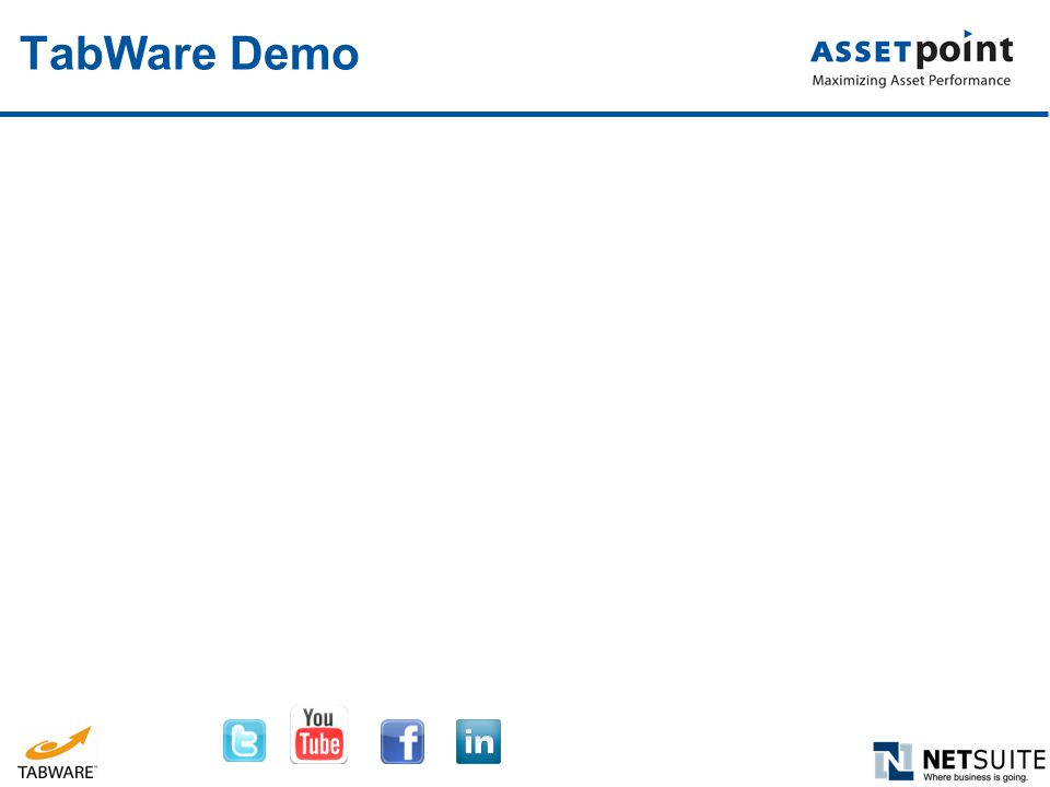TabWare Demo
