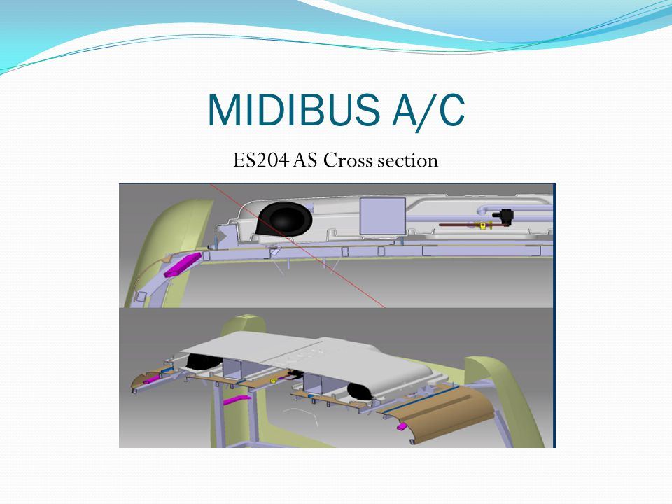 MIDIBUS A/C ES204 AS Cross section