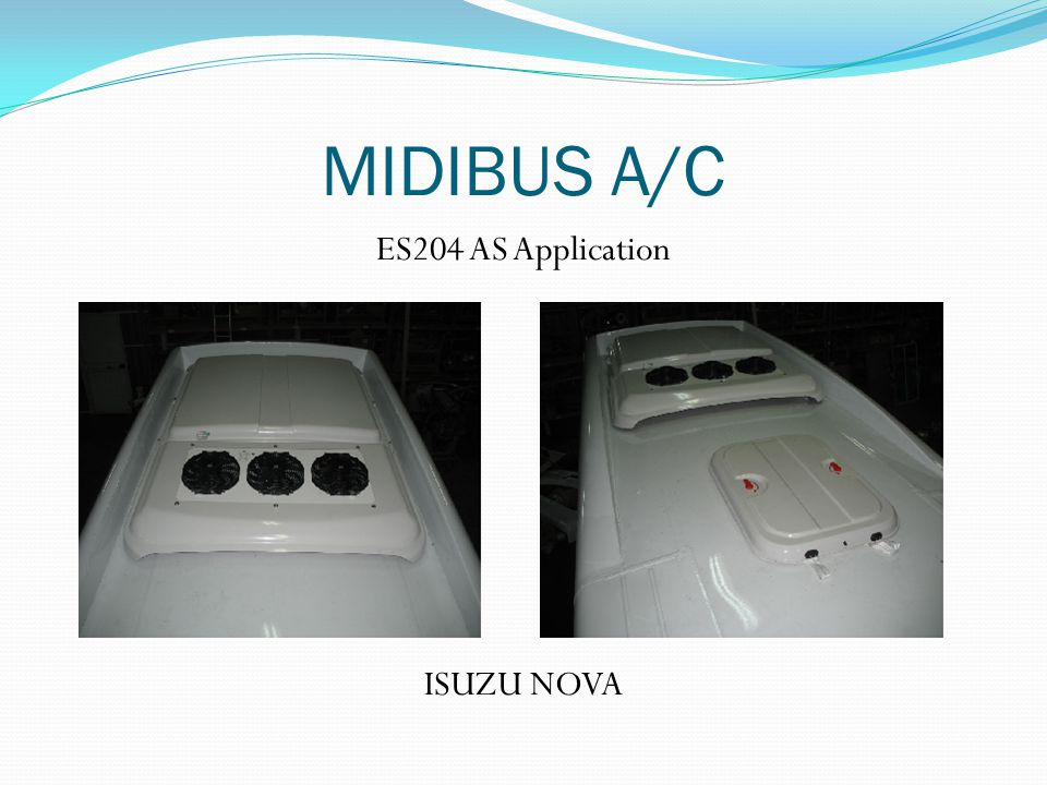 ES204 AS Application ISUZU NOVA