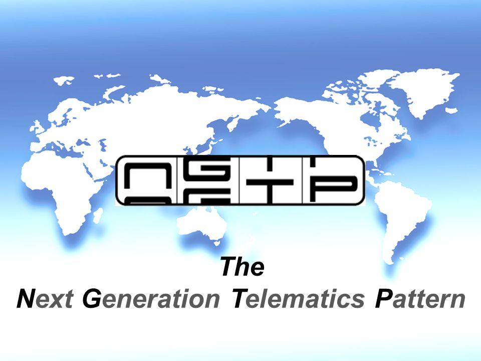 Next Generation Telematics Pattern